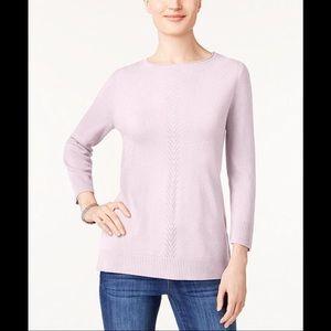 Karen Scott Macy's Plus LuxSoft RollNeck Sweater